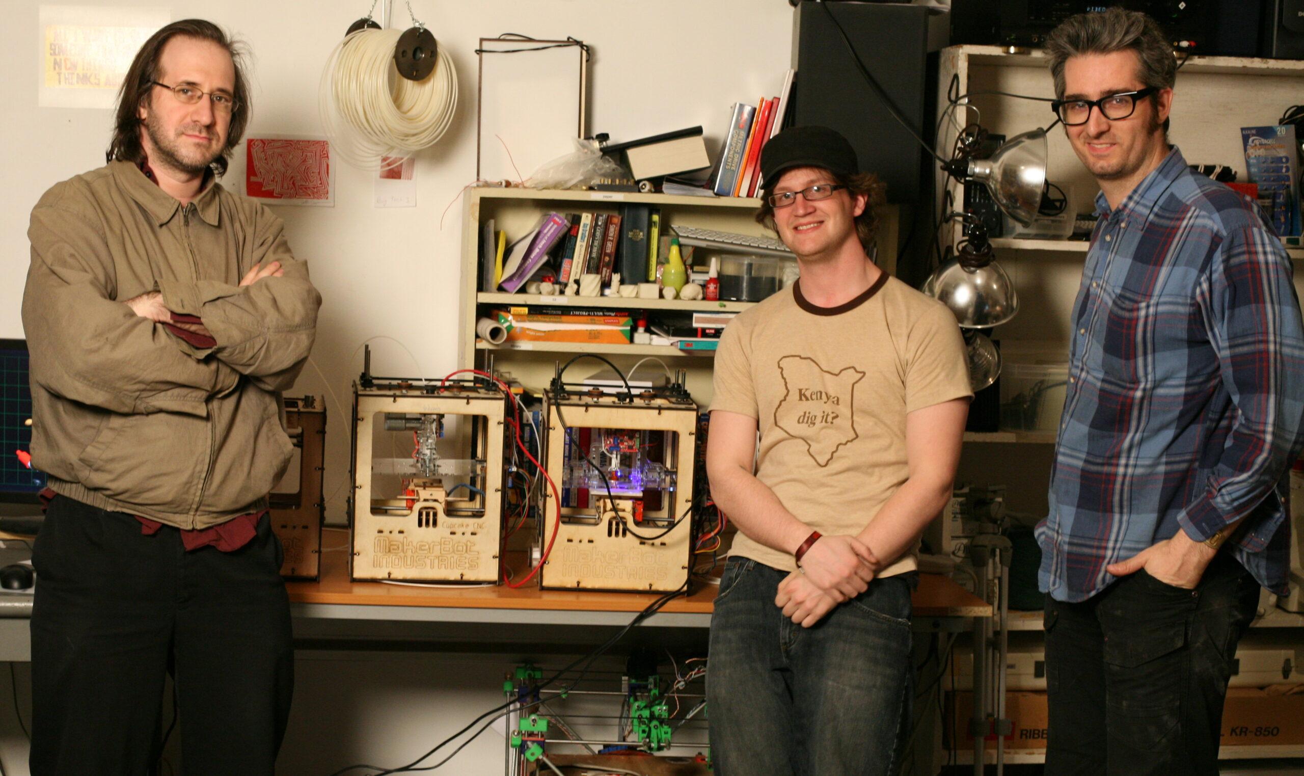اعضای تیم MakerBot